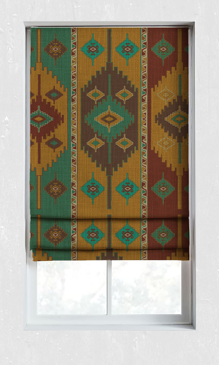 Printed Custom Roman Shades