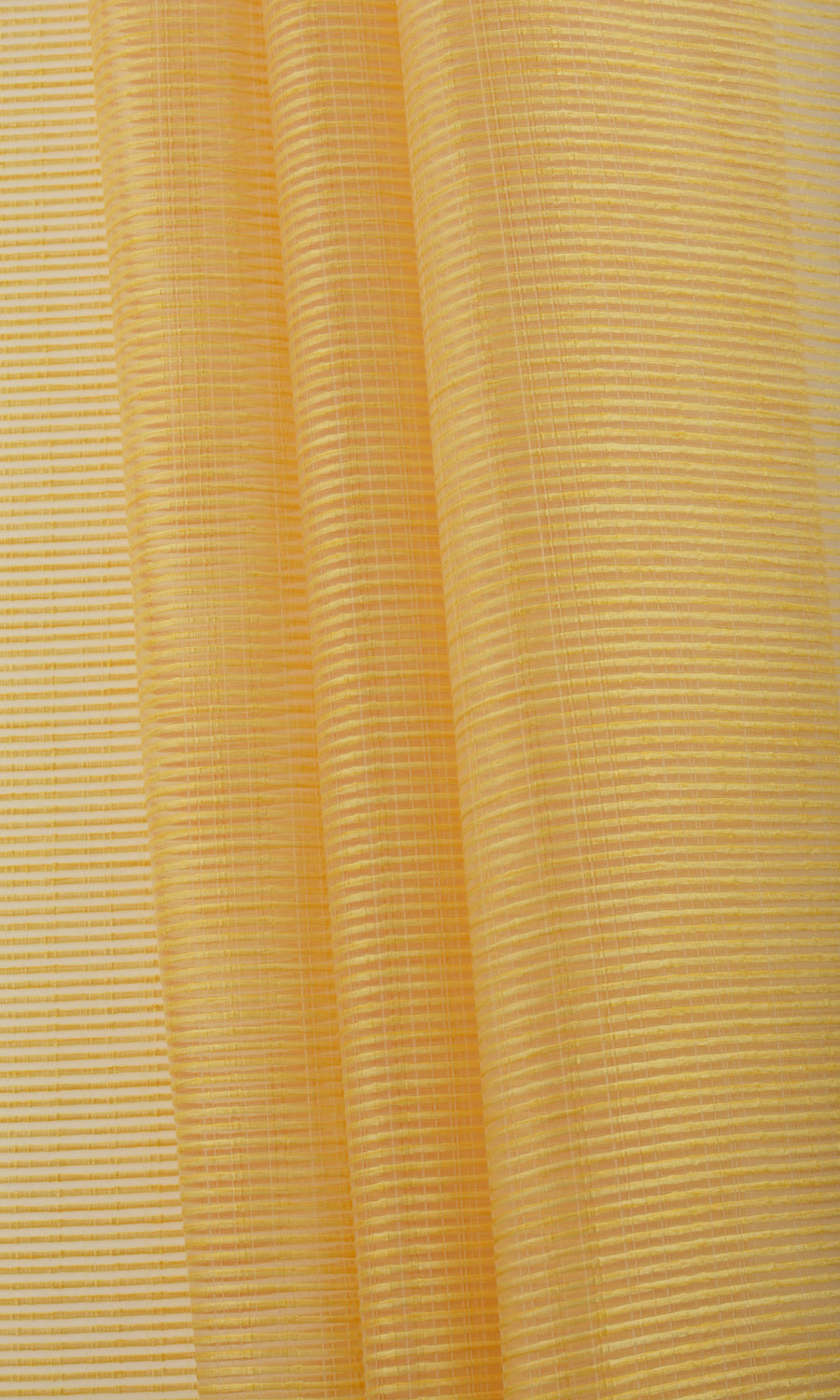 Yellow Striped Custom Window Shades