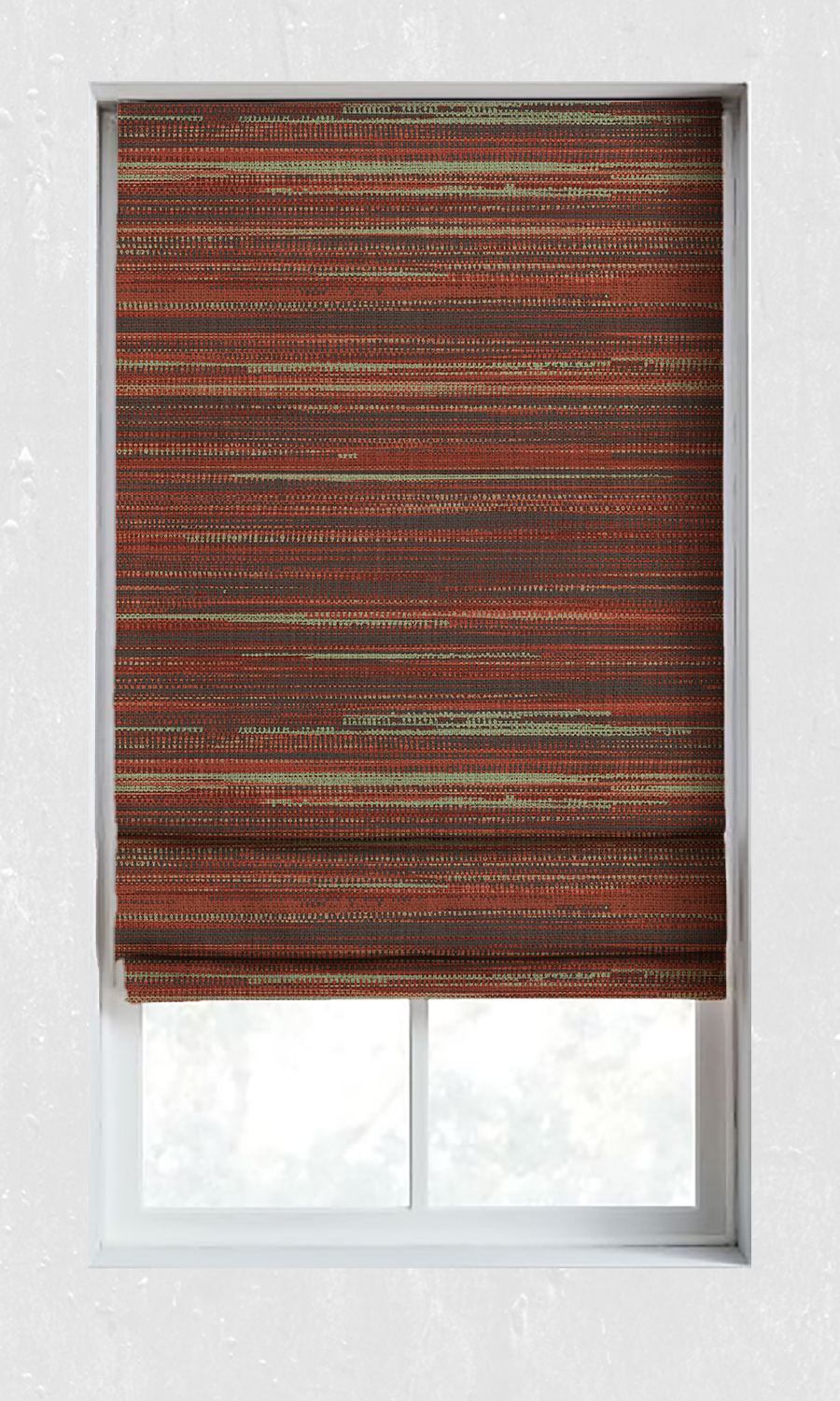 Abstract Custom Roman Blinds For Living Room