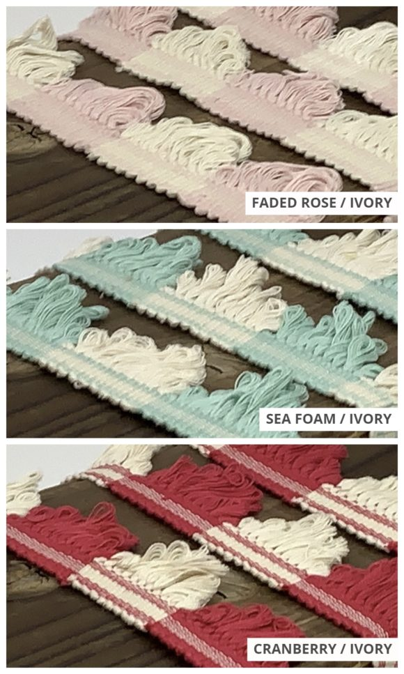 Fan Edge Trims For Custom Drapes & Roman Shade