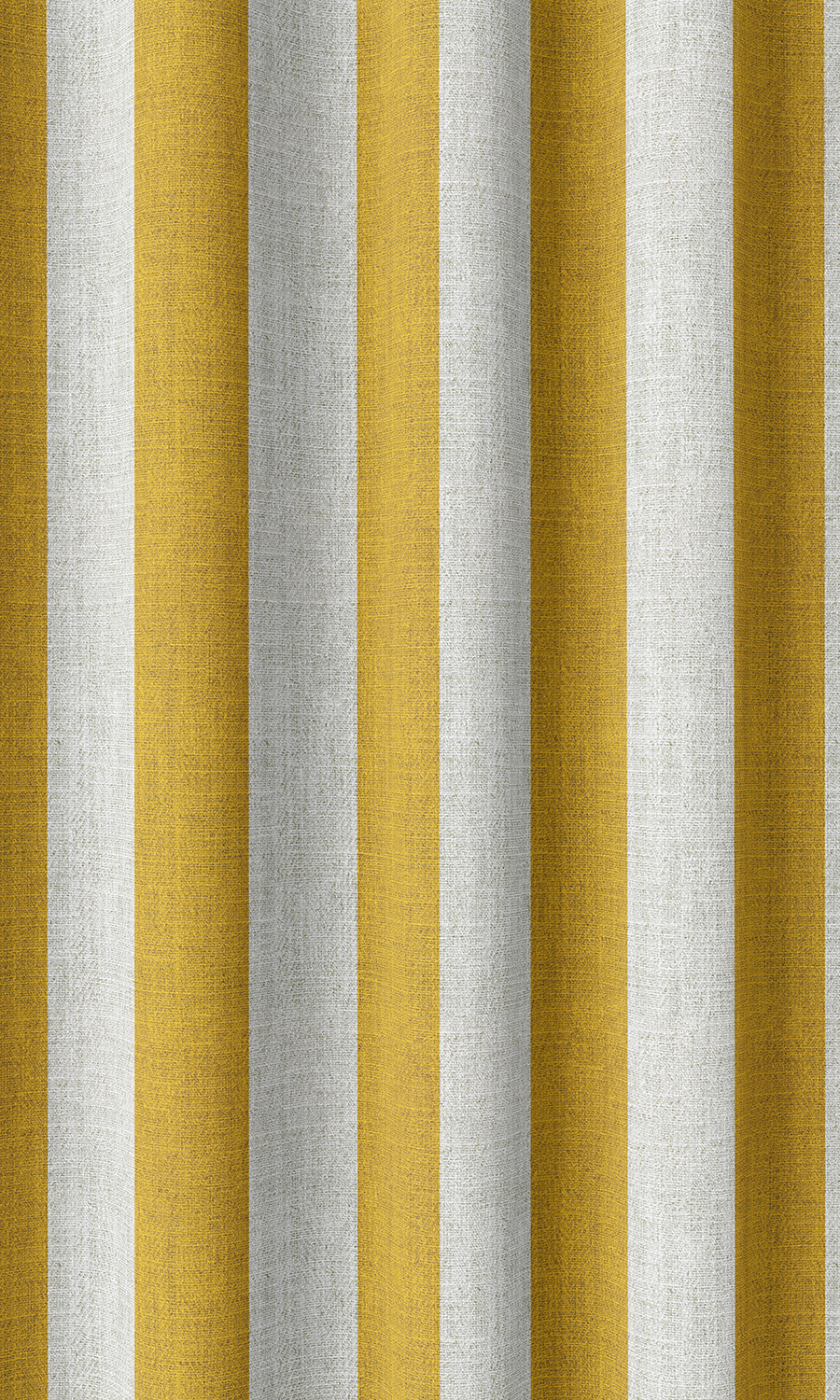 Yellow Striped Custom Fake Shades For Dining Room