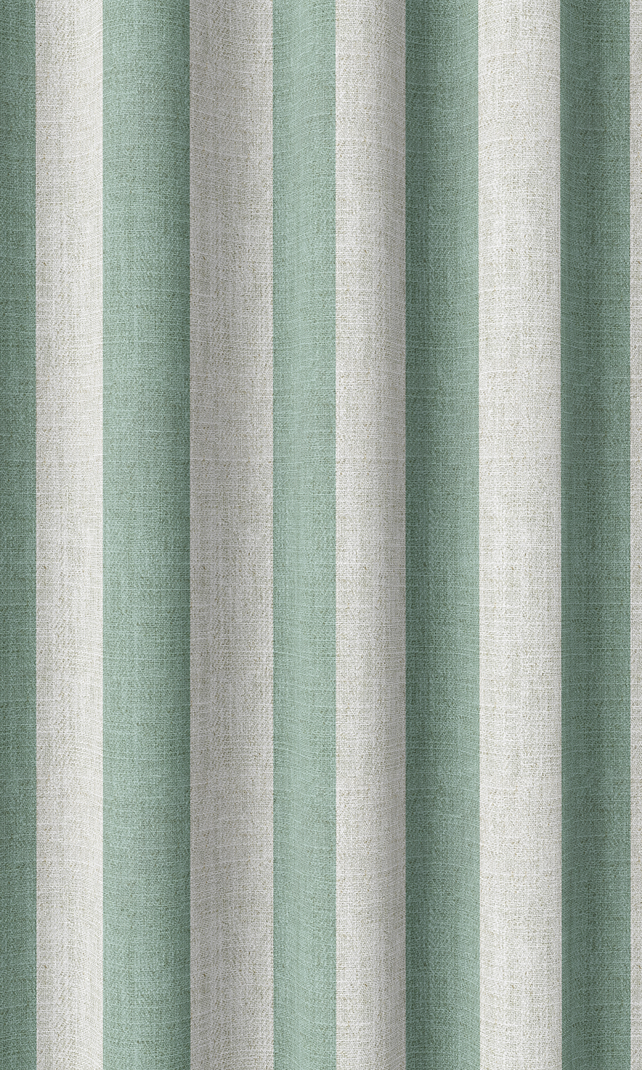 Blue Striped Custom Fake Shades For Dining Room